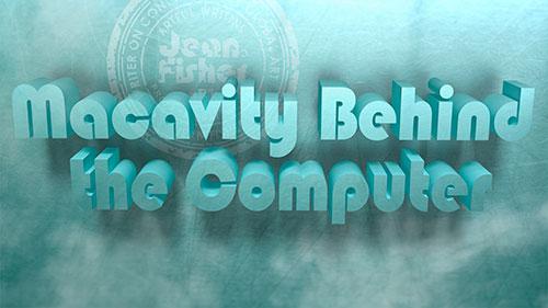 Macavity Behind The Computer 3D Text