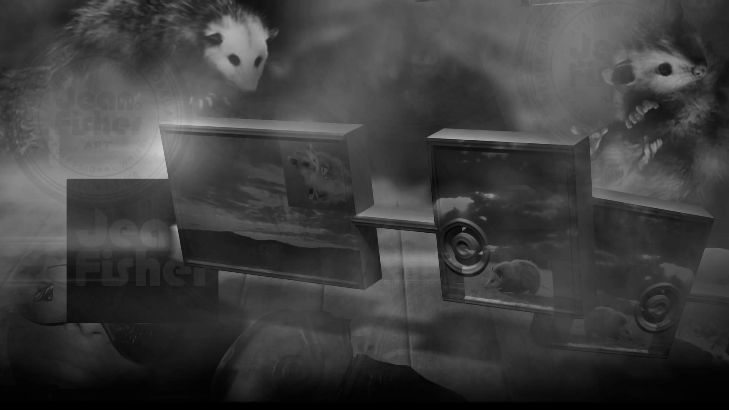 Cinematic scene using opossum elements