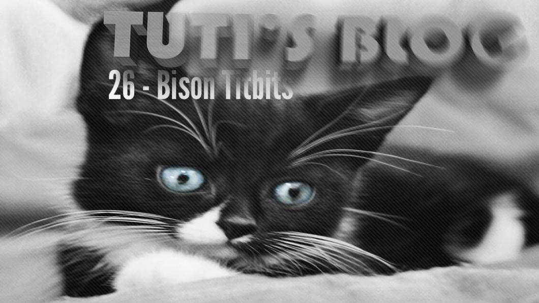 Bison Titbits - Tuti fruit as a kitten