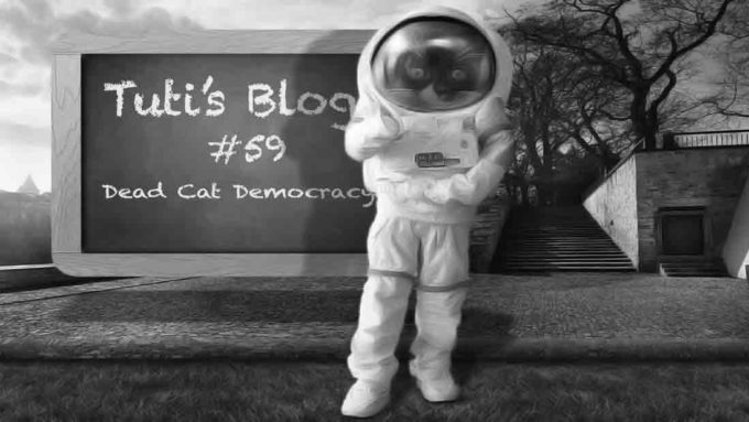 Dead cat democracy astronaut